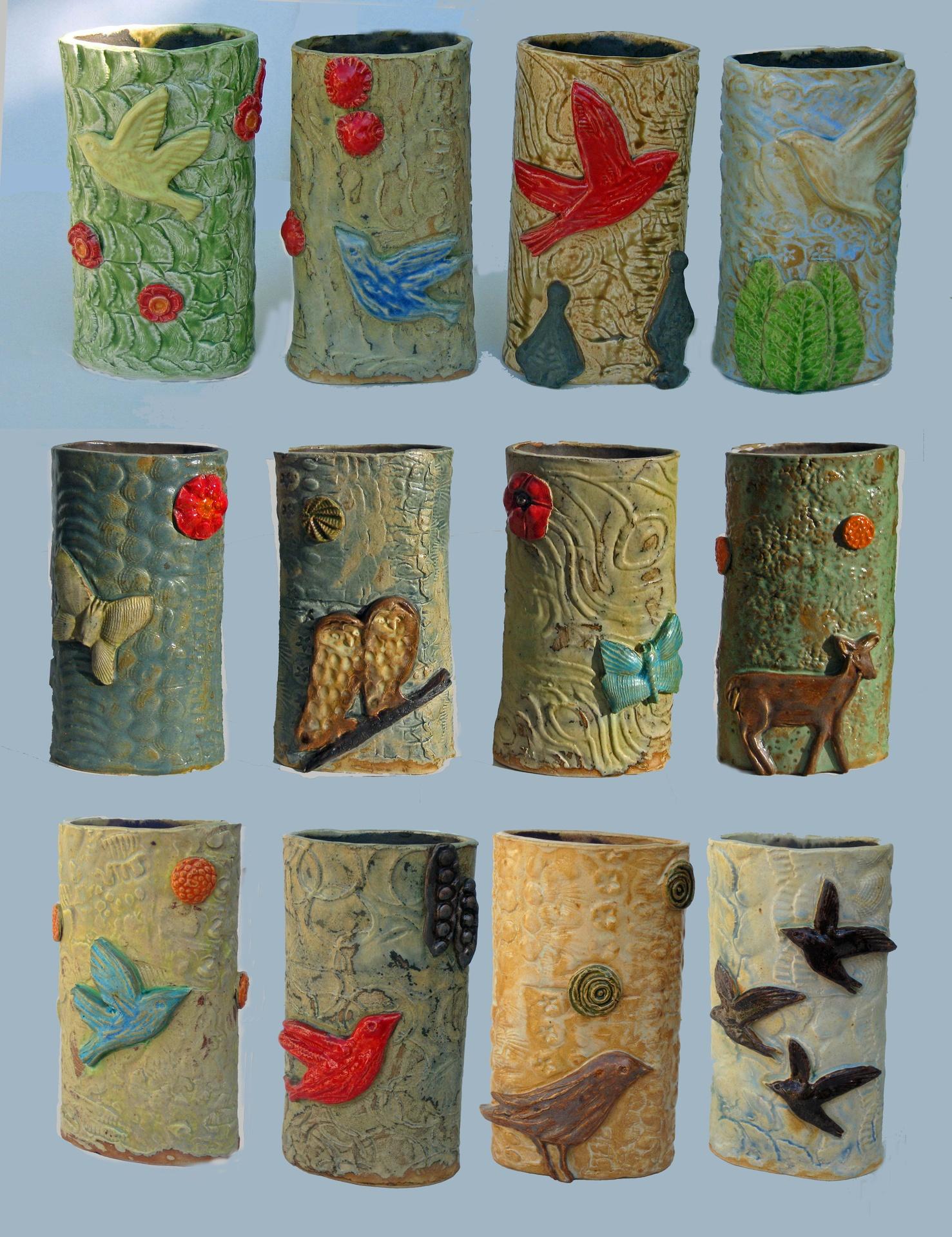 scenery vases: variety