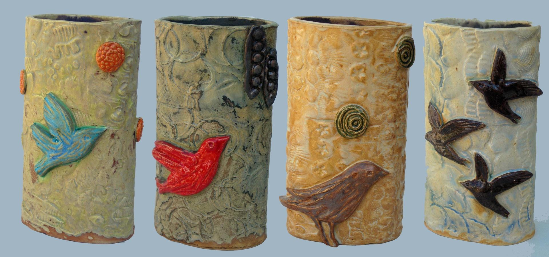 scenery vases